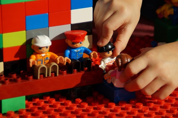 Role Playing Game Males Lego Duplo Play Build