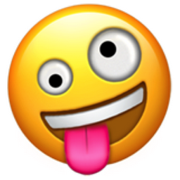 new tongue out emoji