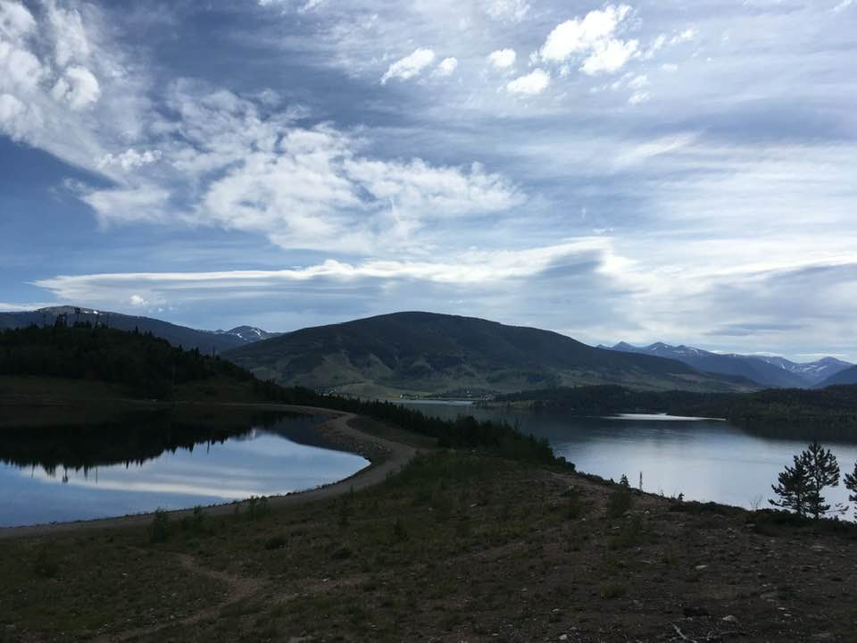 Old new Dillon Reservoir